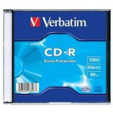 Verbatim cd-r slim box (43347)