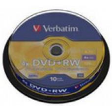Verbatim dvd+rw 4x spindle (43488) 1/10