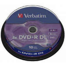 Verbatim dvd+r double layer 8,5gb spindle (43666) 1/10