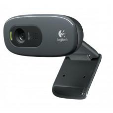Logitech C270 HD Web kamera, CRNA za Win 10