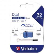 USB memorija Verbatim Dual (USB – micro USB tip C) 32GB 3.2