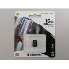 Micro SD 16GB Kingston Canvas select PLUS klasa 10