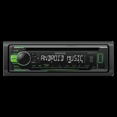 Auto radio KENWOOD KDC-110UG, MOSFET 4 x 50W, MP3, WMA, WAV, FLAC, 1 DIN, ISO konektor