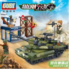 """KOCKE ZA DECU """"GUDI"""" - 8036 ARMY 3, Tiger Hunt"""