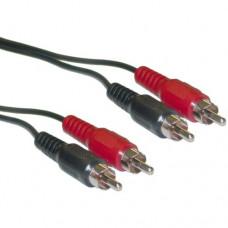Audio Kabl 2x činč (muški) - 2x činč (muški), 5m