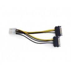 E-Green Kabl-Adapter naponski za PCI Expess VGA (8-pin) - 2xSata