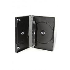 DVD box crni za 3 dvd