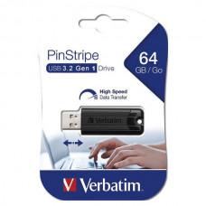 USB memorija Verbatim PinStripe 64GB 3.2