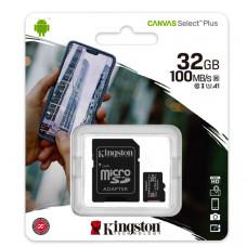 MicroSD Kingston (+ SD adapter) 32GB klasa 10