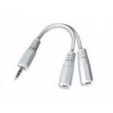 Adapter 3.5mm (m) – 2 x 3.5mm (ž) 10cm