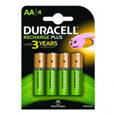 Baterija Duracell punjiva AA HR6 1300mAh