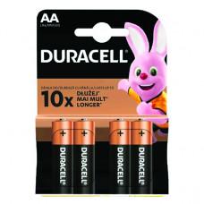 Baterija Duracell alkalna AA LR6