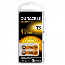 Baterija Duracell ZA13 za slušne aparate