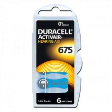 Baterija Duracell ZA675 za slušne aparate