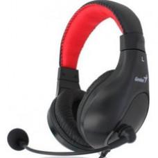 Slušalice sa mikrofonom Genius HS-520, crna -