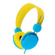 Slusalice Havit H2198d sa mikrofonom zuto-plave