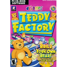 Igrica PC cd-rom Teddy Factory - Build Your Own Bear