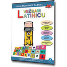 Igrica PC cd-rom Vežbam latinicu