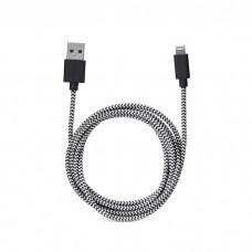 Kabl iPhone 5/6 data 1m pleteni