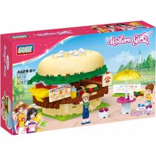 "KOCKE ZA DECU ""GUDI"" - 9610 Modern girls Burger shop"