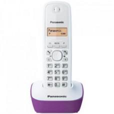 Telefon Panasonic KX-TG1611 bežični ljubičasto-beli