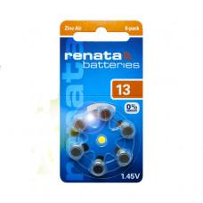Baterija Renata ZA13 za slušne aparate