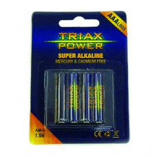 Baterija Triax Power alkalna AAA LR03