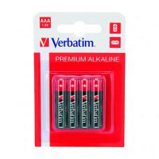 Baterija Verbatim alkalna AAA LR03