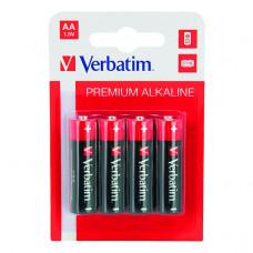 Baterija Verbatim alkalna AA LR6